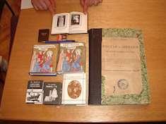 Bokskatter på det statliga humanistiska universitetets bibliotek i Moskva. Foto: T. Andersson.