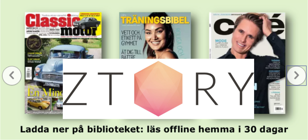 Gratis digitala tidskrifter via biblioteket