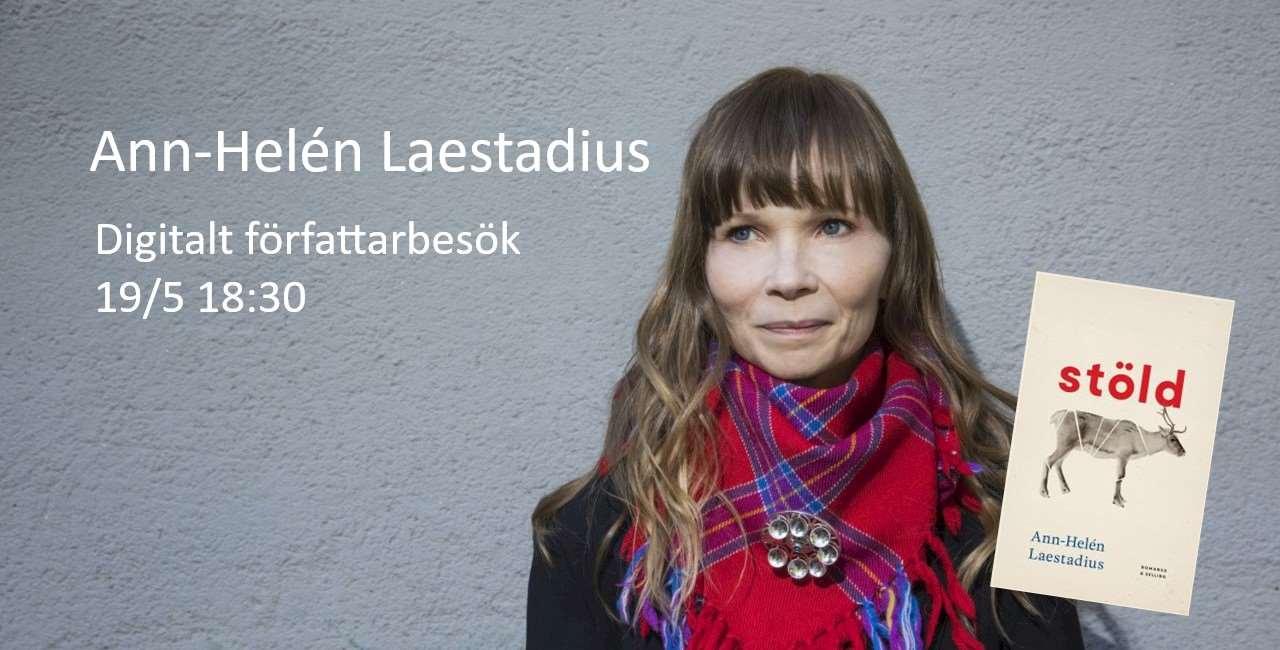 Digitalt författarbesök med Ann-Helén Laestadius 19/5 kl. 18.30